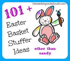 101+ Easter Basket Stuffer Ideas