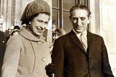 The Queen and George Thomas when he was Secretary of State for Wales