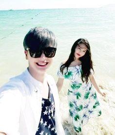 sungjae and joy selca Wgm Couples, Celebrity Couples, Cute Couples, Sungjae And Joy, Sungjae Btob, Korean Drama List, Yongin, We Get Married, Red Velvet Joy