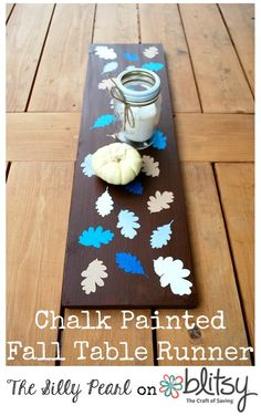 Chalk Painted Fall T