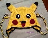 Resultado de imagen para gorro pikachu crochet