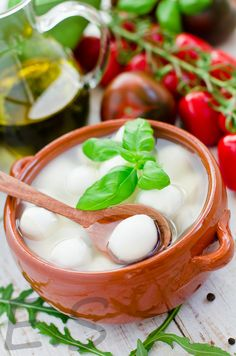 fresh mozzarella Fresh Mozzarella, How To Make Cheese, Queso, Nom Nom, Breads, Dairy, Appetizers, Butter, Favorite Recipes