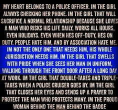 Police officer girlfriend