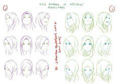 Sketch Hijab