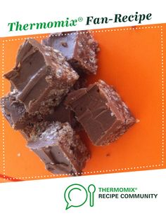 WINNER: Recipe Thermomix Mars Bar Slice by - Recipe of category Desserts & sweets Mars Bar Slice, Slice Recipe, Bellini Recipe, Thermomix Desserts, Sweets Cake, Sweets Recipes, Tray Bakes, Afternoon Tea