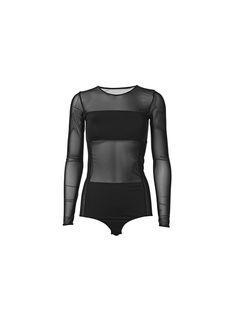 Filosyfi bodystocking with mesh inserts - # Q55441010 - By Malene Birger Autumn Winter 2014 - Women's fashion