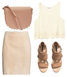 """Untitled #593"" by fiirework ❤ liked on Polyvore featuring H&M, Monki and Alexander Wang"