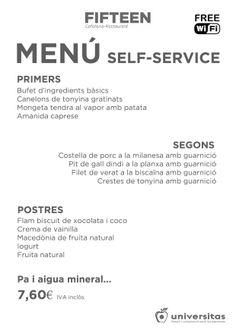 En nuestro #restaurante de #LesCorts de #Barcelona tenemos este self-service: