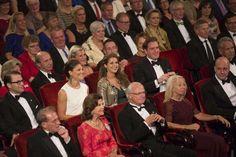 MYROYALS & HOLLYWOOD FASHİON - Swedish Royal Family attends Swedish Riksdag's jubilee concert at the Stockholm Concert Hall in Stockholm .