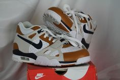 brand new d69dc bc98d Nike Air Trainer 3 PRM Medicine Ball Mens Running Shoes Size 8.5 White   Blue