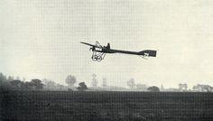 An early aeroplane flight from Bristol's Durham Down