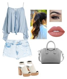 """""""Sin título #143"""" by pricsila-marquina-gonzalez on Polyvore featuring moda, Sans Souci, MANGO, Rebecca Minkoff, Givenchy y Lime Crime"""