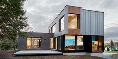 Conception d'une maison unifamiliale au Bic par _nature humaine - Index-Design.ca