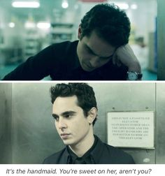 Max Minghella, Nick Blaine, The Handmaid's Tale The Handmaid's Tale Book, Handmaid's Tale Tv, A Handmaids Tale, Handmade Tale, Looking For Alaska, Phineas And Ferb, Tv Couples, My Demons, How I Met Your Mother