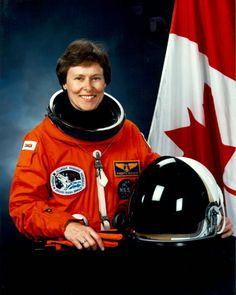 Dr. Roberta Bondar-Canada's first woman astronaut and the first neurologist in space. Has received the Order of Canada, the Order of Ontario, the NASA Space Medal, over 22 honorary degrees and induction into the Canadian Medical Hall of Fame. Bondar flew on the NASA Space Shuttle Discovery during Mission STS-42, January 22–30, 1992, during which she performed experiments in the Spacelab.