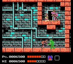 My favourite TMNT game! Ahhh the memories...