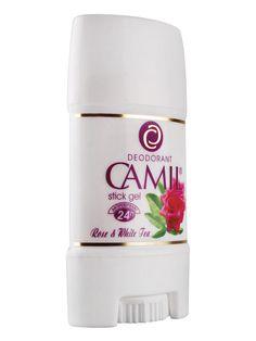 Stick gel cu aromă de trandafiri Camil Spa  cod - cami215  24 de ore protector anti-perspirant. Pentru prospeţime şi confort.  65 g Voss Bottle, Water Bottle, Spa, Body Spray, Lady, Fragrance, Water Flask, Water Bottles