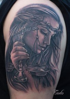 Todo - Lady Justice tattoo