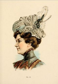Hats by H O'Neill of New York 1899-1900 Catalogue - Hat No12 | Flickr - Photo Sharing!