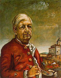 Self-Portrait, 1960 - Giorgio de Chirico - WikiArt.org