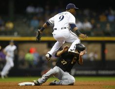 Sept. 3, 2015 — Brewers 5, Pirates 3 (Photo: Getty Images)