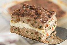 www.philadelphia.com.mx recetas comida carne pastel-de-carne-molida?mode=amp Meat Recipes, Mexican Food Recipes, Healthy Recipes, Healthy Foods, Deli Food, Carnitas, Meatloaf, Banana Bread, Food Porn