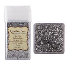 Recollections Signature Fine Glitter, 1.5 oz. Silver