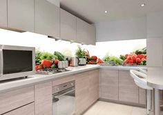 Kitchen wall tiles fruit design