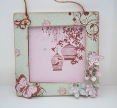 Handmade Decorated MDF Photo Frame