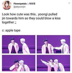 Yoongi took jin's traits a little too well