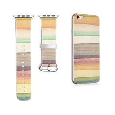 Original Desing Colorful Style Leather Watchband for Apple Watch Band for Iwatch Series 2 3 Band Gifts for IPhone Case Best Apple Watch, Apple Watch Bands, Colorful Fashion, Link Bracelets, Cell Phone Accessories, Iphone Cases, Fashion Jewelry, South America, Leather