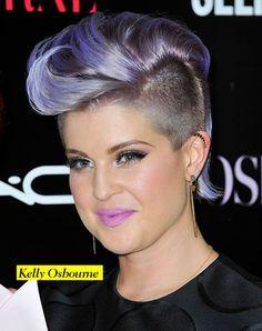 Kelly Osbourne capelli viola