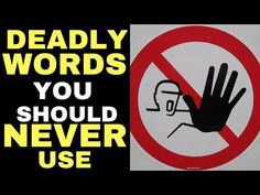 (3) 3 Deadly Words That Are Stopping The Law Of Attraction From Working | The Secret - YouTube