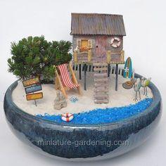 Seaside House: #fairygarden #fairyhouses