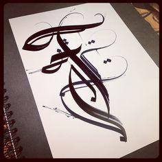Calligraphy / F