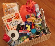 student fresher freshman survival kit box hamper
