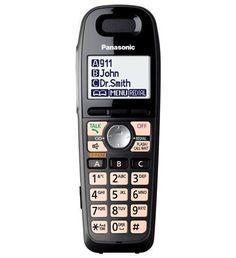 Panasonic Consumer KX-TGA659T Titanium Black Extra handset accessory