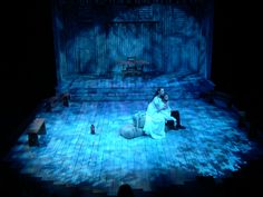 The Crucible @ Henderson State University Stage & Lighting Design by Douglas Gilpin