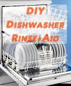 Homemade Dishwasher Rinse Aid (Jet Dry) 33 Awesome Stock of Share DIY Home Care Ideas Diy Cleaners, Cleaners Homemade, Cleaning Recipes, Cleaning Hacks, Home Design, Homemade Shower Cleaner, Tips & Tricks, Natural Cleaners, Natural Cleaning Products