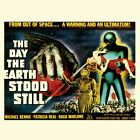Day the Earth Stood Still T-shirt retro sci-fiction horror b-movie tee shirt