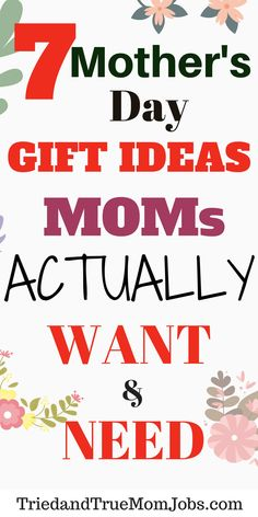 Are you looking for gift ideas for Mother's Day? Check out these 7 unique Mother's Day gifts that Mom will actually want. #Mothersday #Giftguide #giftideas #Mothersdaygifts #Mothersdaygiftideas