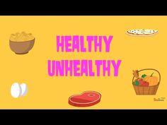Healthy Unhealthy Food Quiz - YouTube