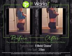 About that CLEANSE I keep talking about....  Would results like this excite you? Because this is my teammate and friend Brandiann's results.  I'm still trying to pick my jaw up off the floor!!  I'm looking for testers. The next 3 people are not only going to get  mind blowing results, but I'll get this for you at my  discount! The first 3 to message me are in! Ready....Set...GO! www.laracerami.itworks.com