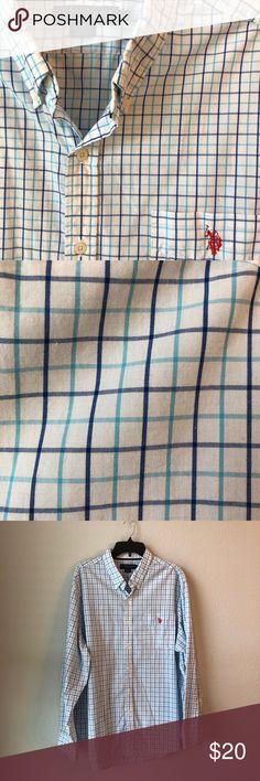 beeb182c3a1 U.S. Polo Assn Men s Casual Button Down Shirt U.S. Polo Assn Men s Casual  Button Down Shirt