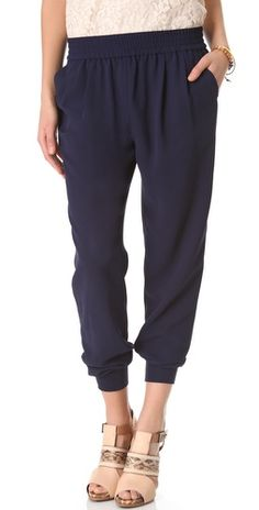 the perfect slouchy pant