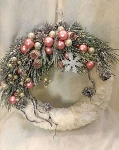 Rustic Christmas ornaments – Rustic Homes Christmas Advent Wreath, Rustic Christmas Ornaments, Christmas Rose, Holiday Wreaths, Christmas Holidays, Xmas Decorations, Christmas Projects, Halloween, Diy Christmas Wreaths