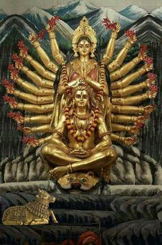 Lord shiva with shakti