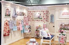 Quilt Market, Kansas city 2012. Such an adorable booth by Carina Gardner of Riley Blake fabrics. This is her new line, song bird!