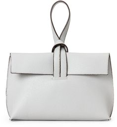 Street Level Grey Convertible Clutch