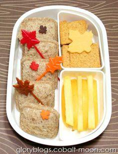 Autumn Leaf Thanksgiving Bento